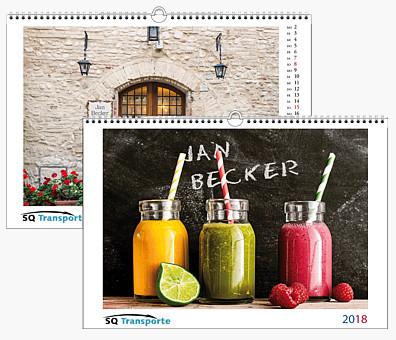 "Bildpersonalisierter Wandkalender ""Basic"" KFXLB"