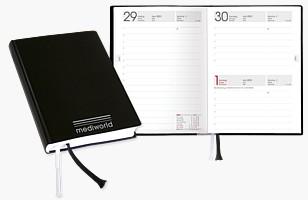 """Taschenkalender """"Pocket Day mit Luxoreinband"""" TB1TL"""