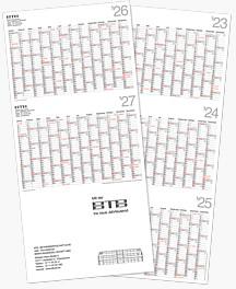 5-Jahreskalender FJK