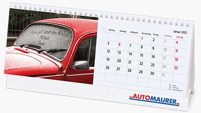 Bildpersonalisierter Tischkalender KFTK