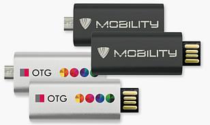 """USB-STICK """"Micro Twist"""" USB OTG"""