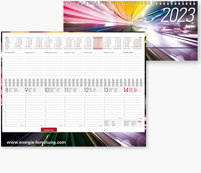 "Tischquerkalender ""Romulus Hardcover"" TQHC"