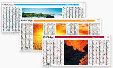 "Digital-Plakatkalender ""PLUS"" DIGI"